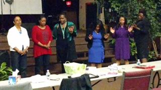 PGW Breakfast Praying Women